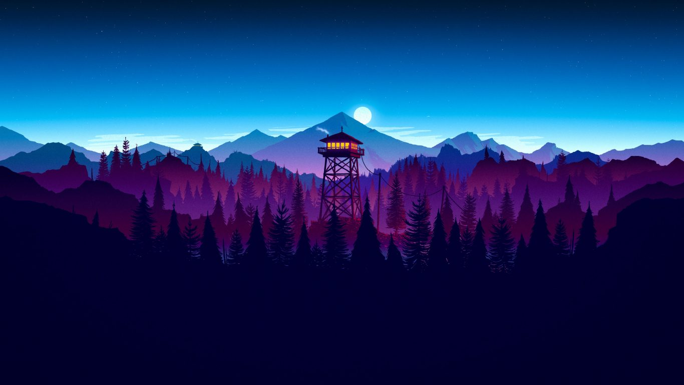 3d Car Wallpaper For Desktop Download Widescreen Wallpaper 4k Digital Firewatch Night