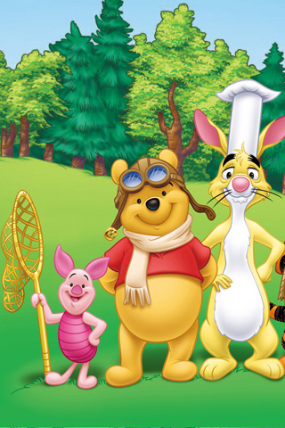 Cute Cartoon Nature Wallpapers Winnie The Pooh 171 Download Blackberry Iphone Desktop And
