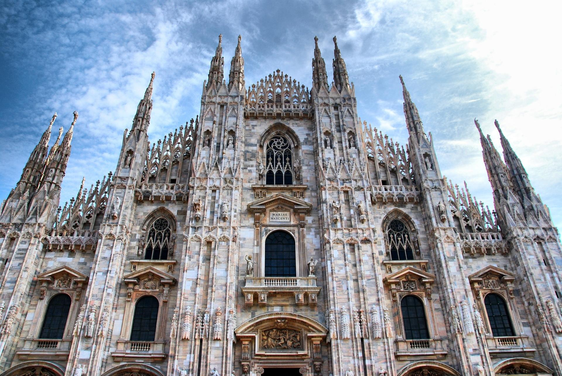 Gothic Wallpaper For Iphone Milan Cathedral Wallpaper Hd Download