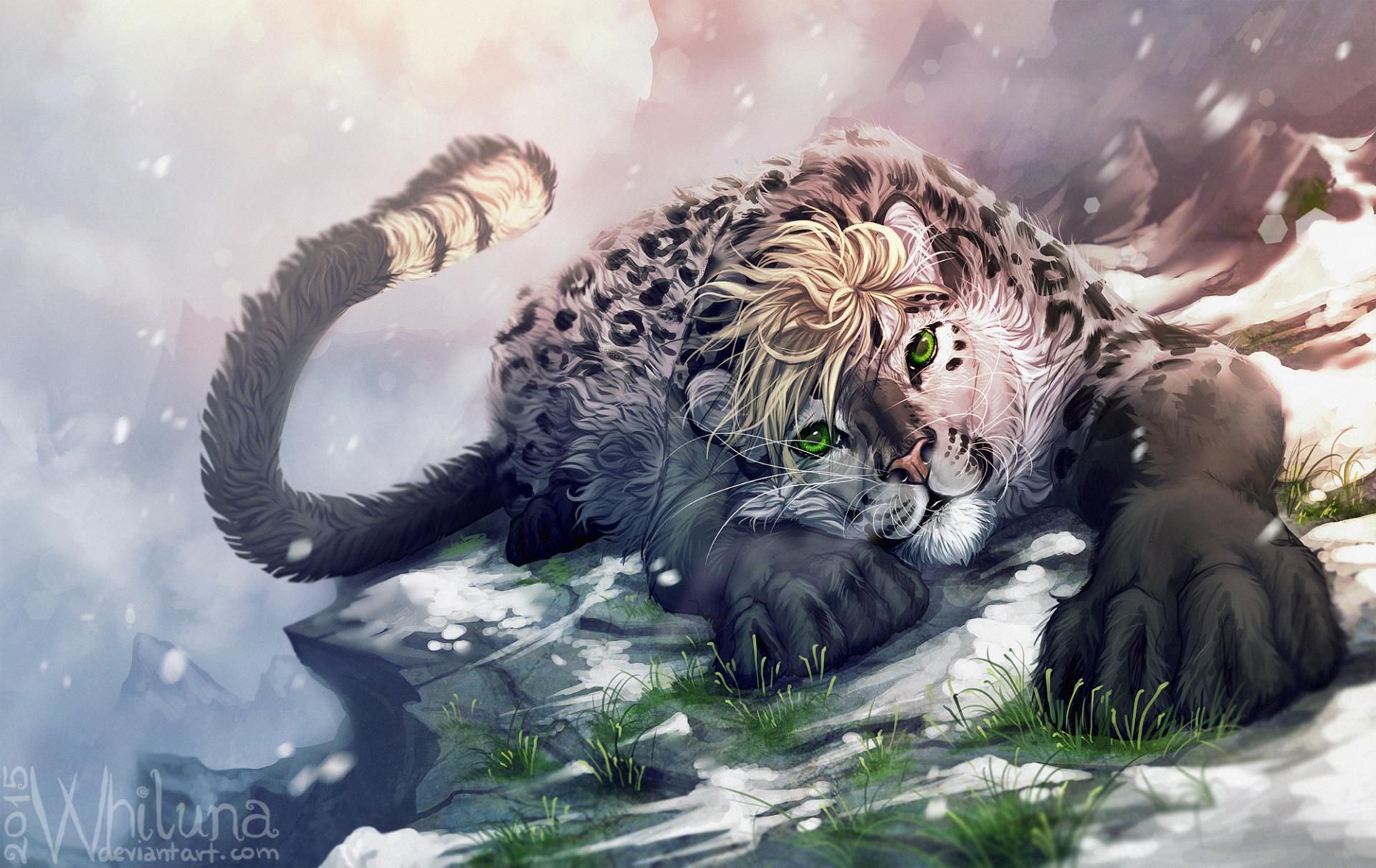 Free Download Wallpaper Anime Girl Fantasy Animals Wallpaper Hd Download