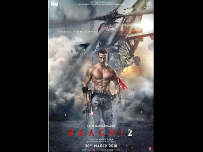 Baaghi 2 HQ Movie Wallpapers | Baaghi 2 HD Movie Wallpapers - 50521 - Filmibeat Wallpapers