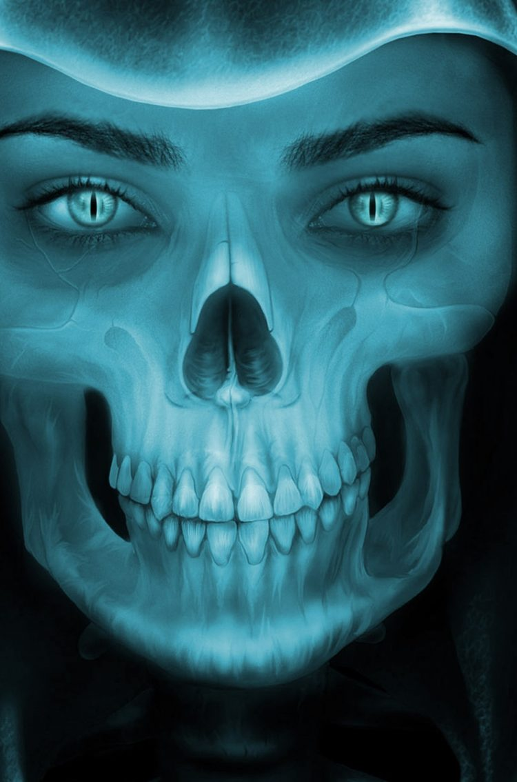Beautiful Girl Wallpaper Iphone Female Grim Reaper Face Hd Wallpaper Wallpapers Gg