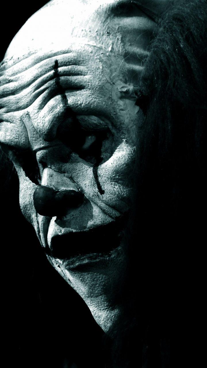 Jack Skellington Iphone Wallpaper Scary Clown In The Dark Hd Wallpaper Wallpapers Gg