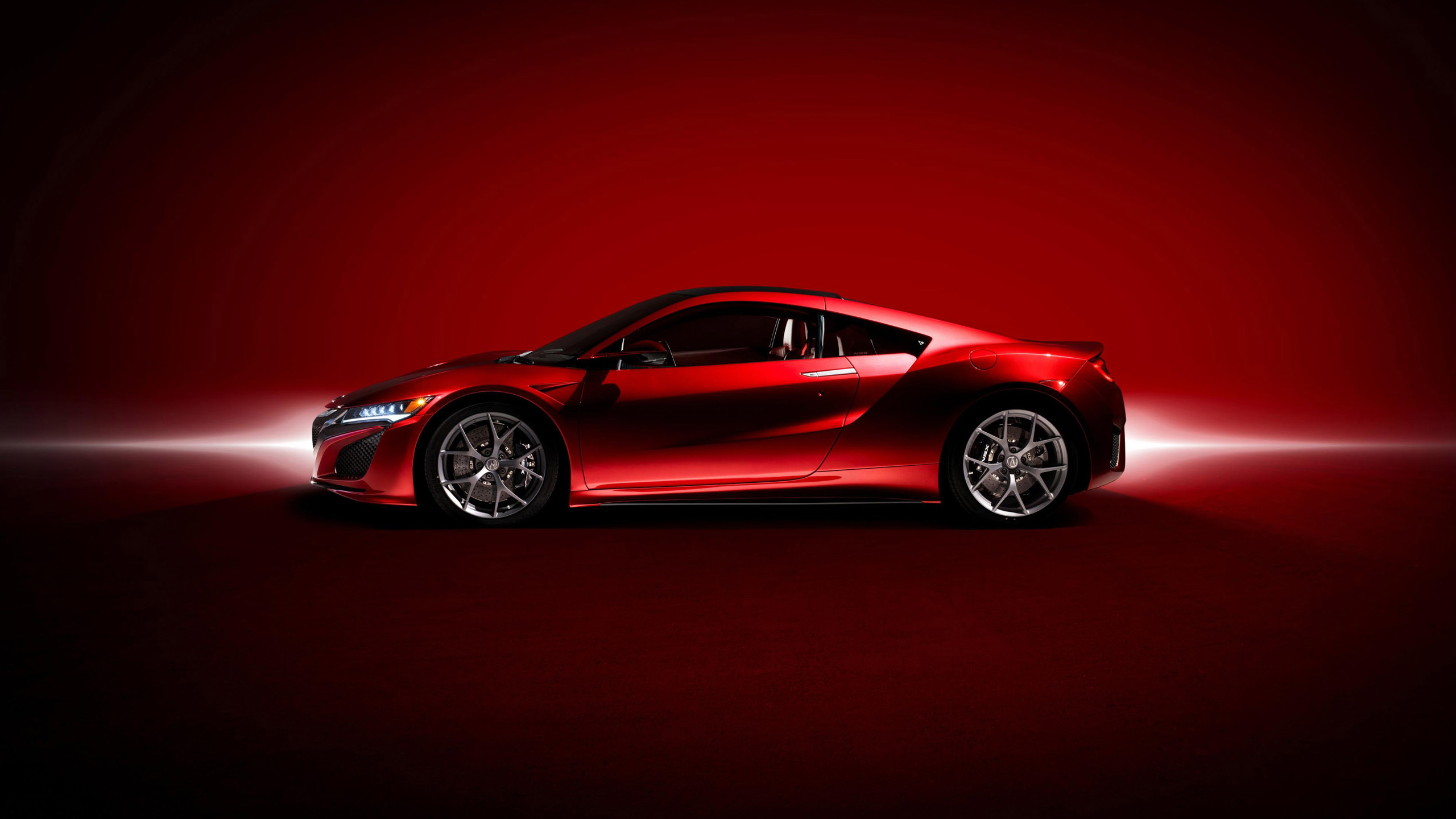 2017 acura nsx red 3 wallpaper
