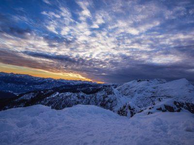 Snowy Mountains 7K UHD Wallpaper