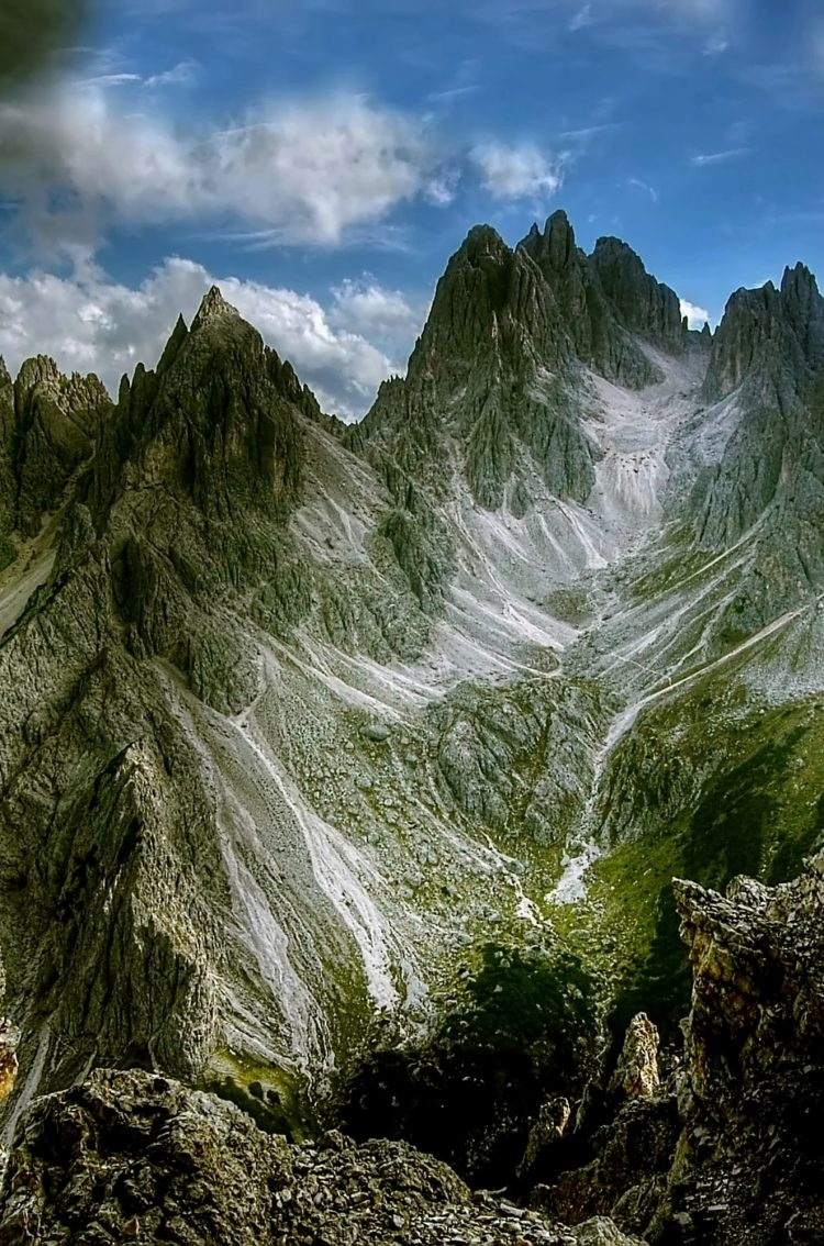 Winter Wallpaper For Iphone 4 Dolomites Mountains Cadini Di Misurina Hd Wallpaper