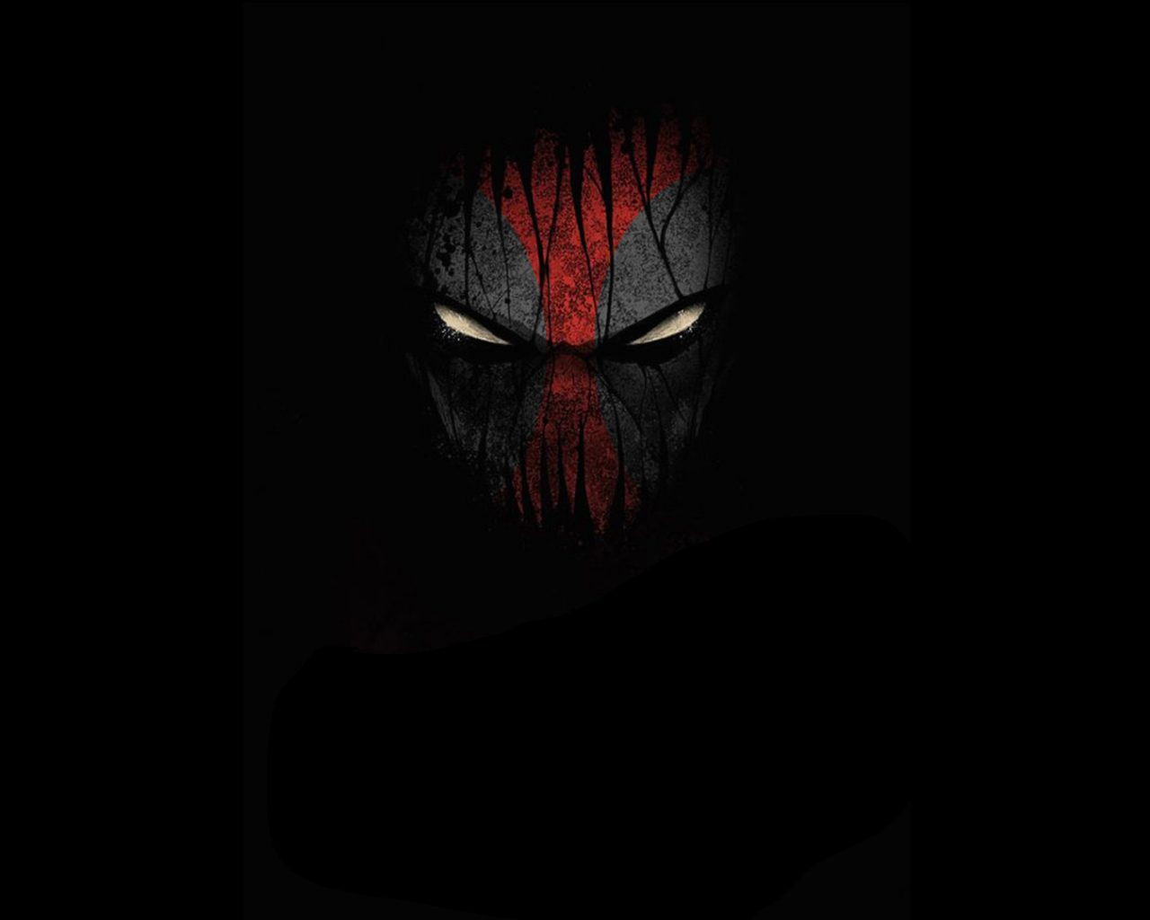 Batman Logo Hd Mobile Wallpaper Deadpool Face Hd Wallpaper