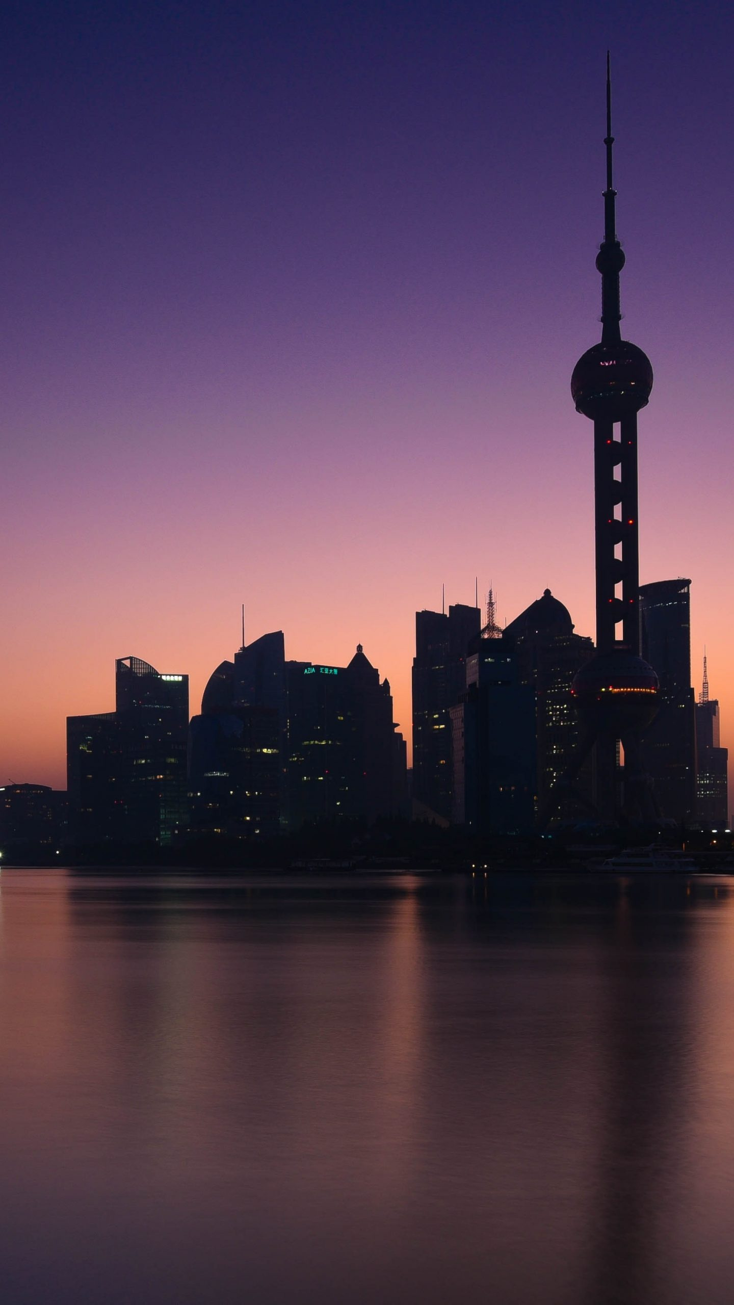 Ios 11 Hd Wallpaper Shanghai At Sunrise China 5k Uhd Wallpaper Wallpapers Gg