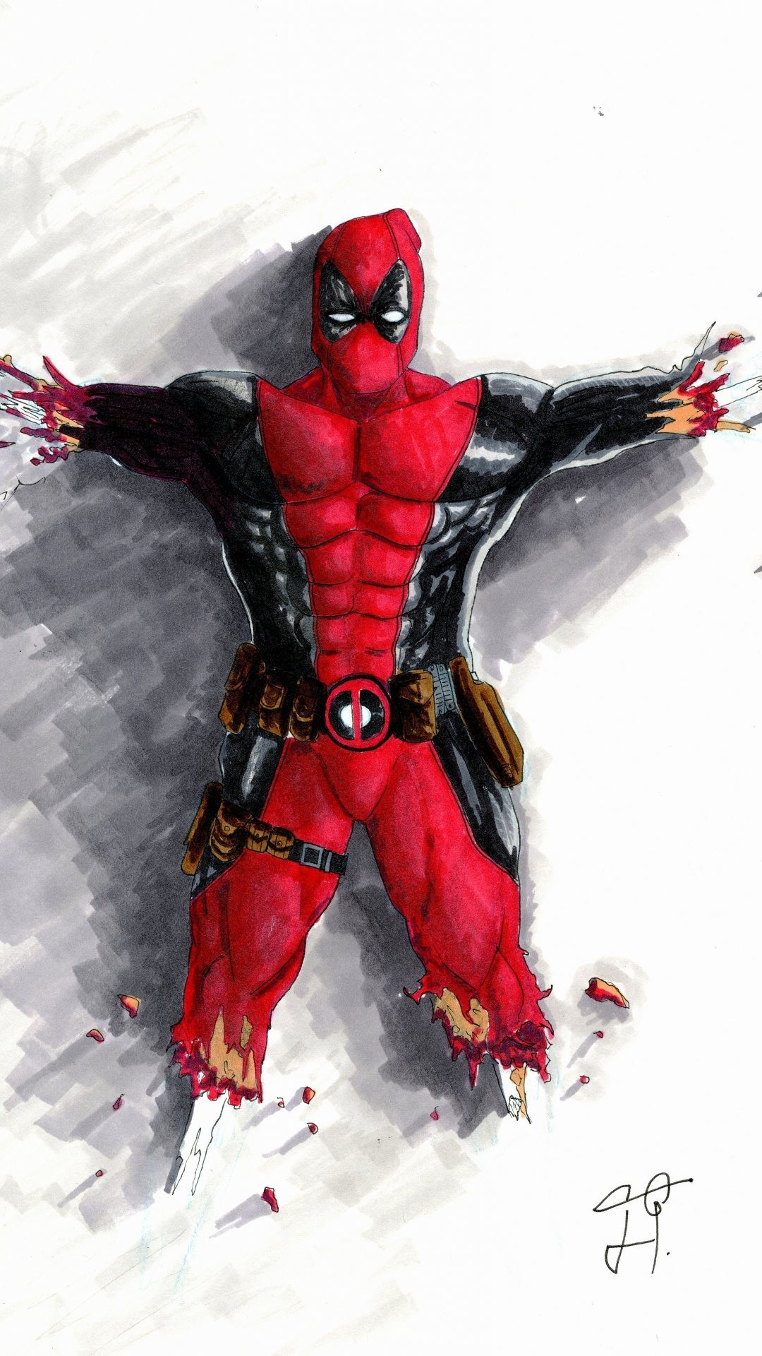 Deadpool Hd Wallpaper Iphone 6 Deadpool Hd Wallpapers For Iphone 6 Plus Wallpapers Pictures