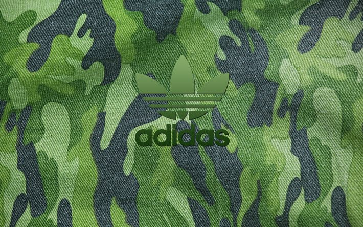 Adidas Logo 3d Wallpapers Hd T 233 L 233 Charger Fonds D 233 Cran Camouflage Logo Adidas