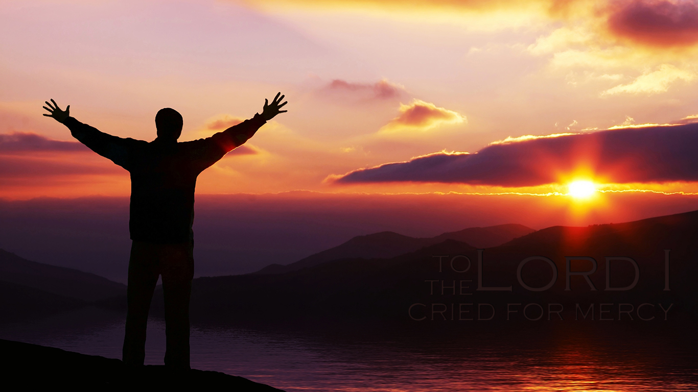 Christian Wallpaper Hd To The Lord I Cried Christian Wallpapers