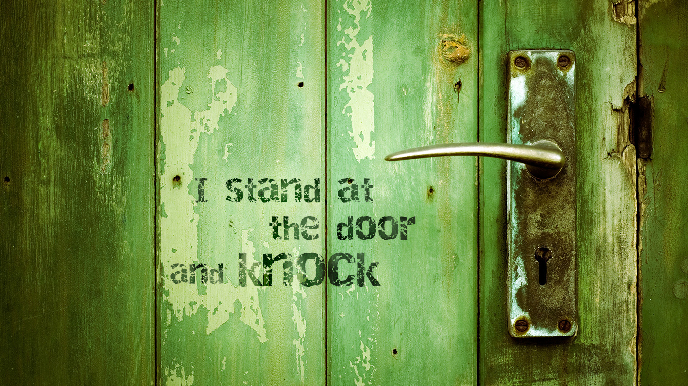 Christian Wallpapers For Girls He Stands At The Door Christian Wallpapers