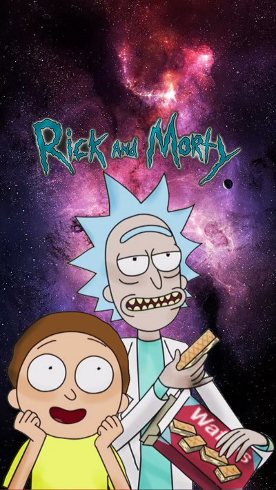 Rick and Morty iPhone 8 Wallpaper | 2019 Cute Wallpapers