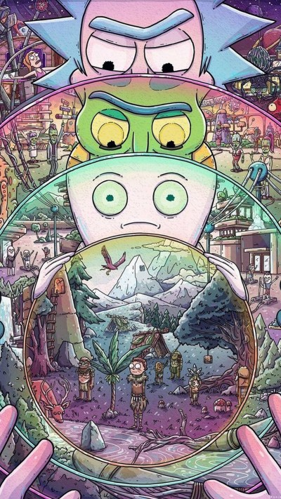Rick and Morty iPhone X Wallpaper | 2019 Cute Wallpapers