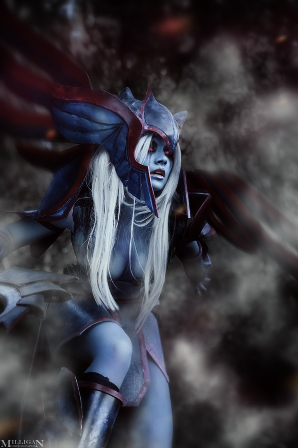 Computer Desktop 3d Wallpaper Vengeful Spirit Dota 2 Free Cell Phone Wallpapers