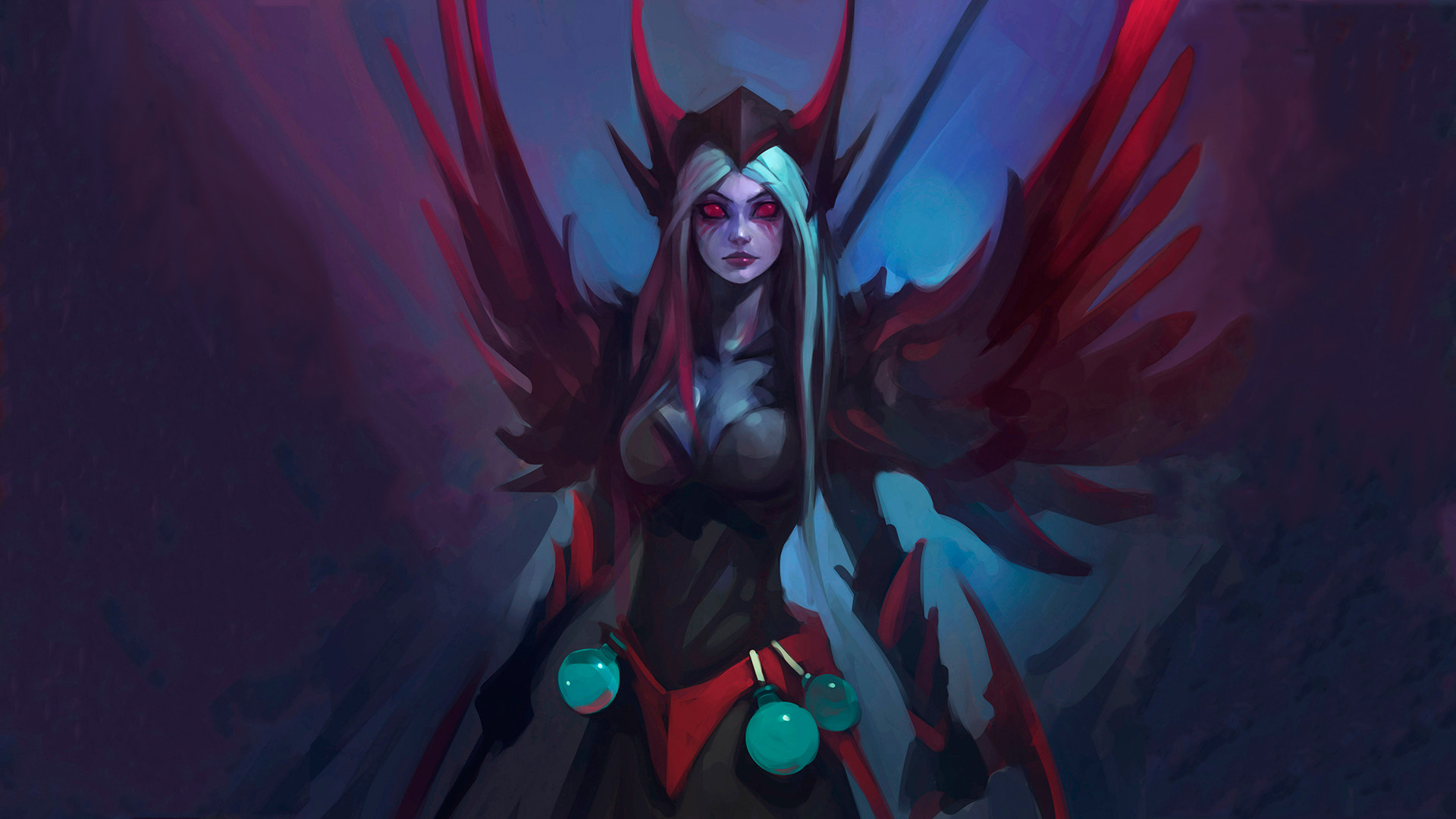 3d Animation Desktop Wallpapers Free Download Vengeful Spirit Wallpapers Download Wallpapers Dota 2