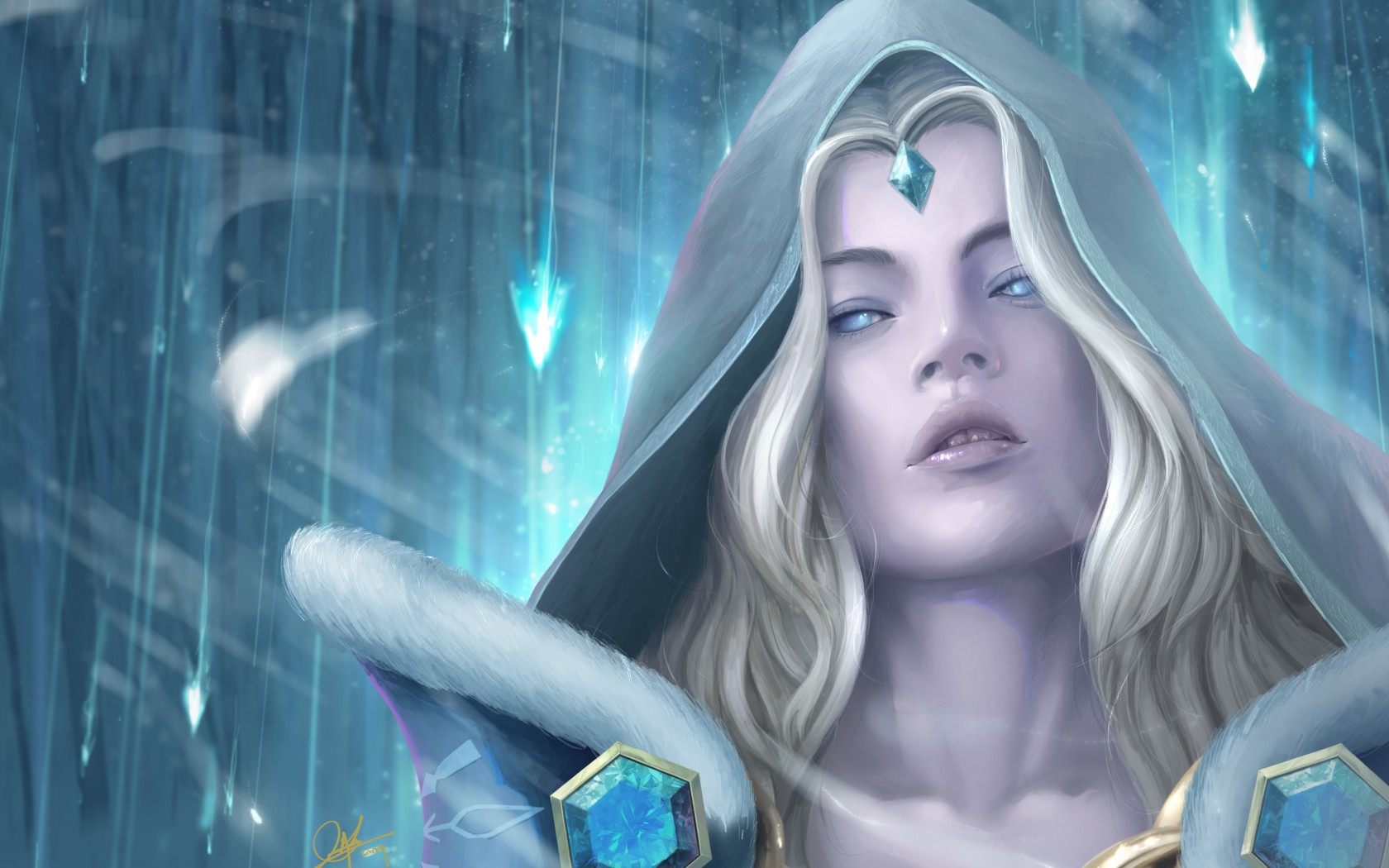 Free Download 3d God Wallpaper For Pc Crystal Maiden Nature Wallpapers Wallpapers Dota 2