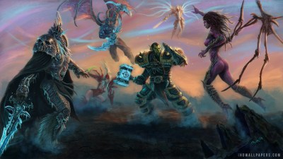 Heroes Of The Storm HD wallpapers free download