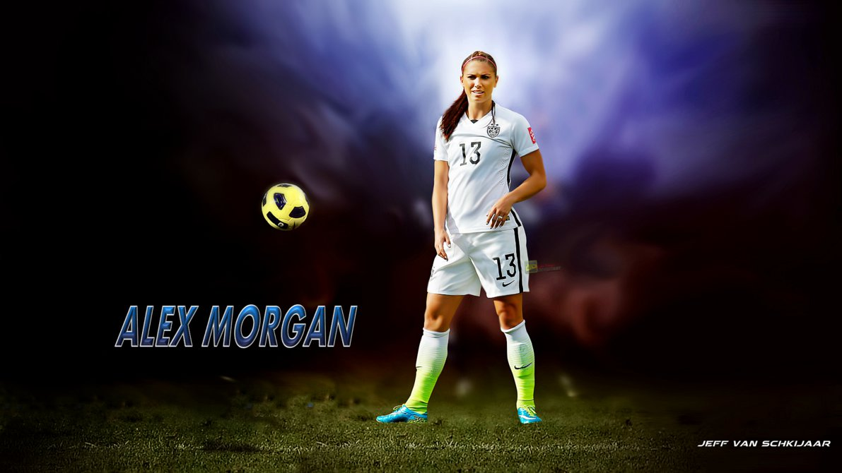 Soccer Girl Wallpaper Alex Morgan Wallpapers High Resolution And Quality