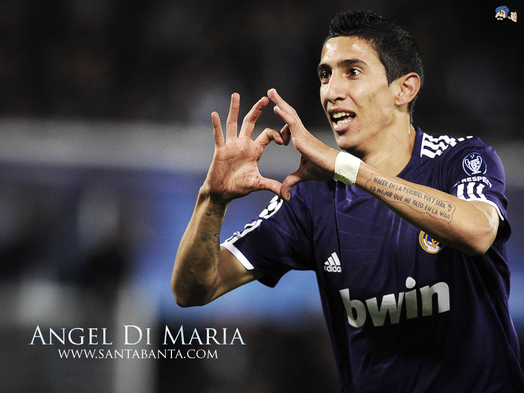 Wallpaper Arsenal Hd Angel Di Maria Wallpapers High Resolution And Quality Download