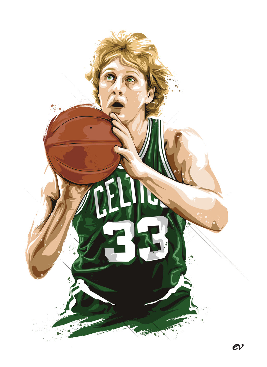 Kyrie Irving Wallpaper Iphone Larry Bird Wallpapers High Resolution And Quality Download