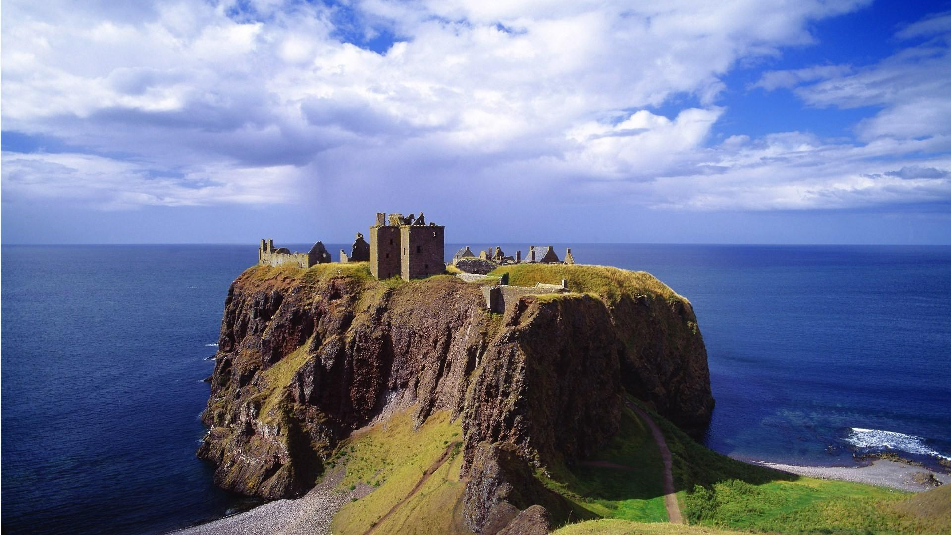 3d Animated Wallpaper Windows 10 Dunnottar Castle Hd Wallpapers