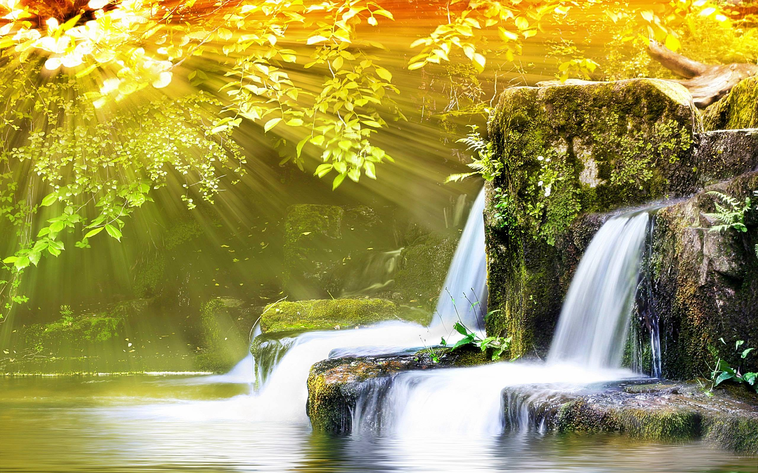 Free 3d Moving Wallpapers For Laptop Waterfalls Hd Wallpapers