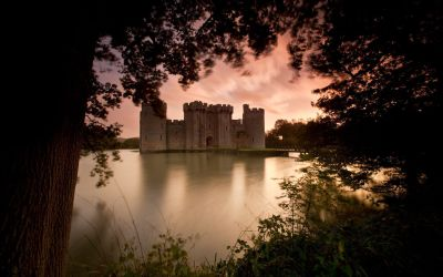 Bodiam Castle Wallpapers Backgrounds