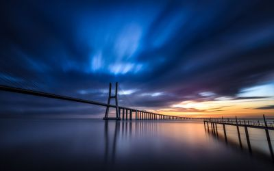 Vasco Da Gama Bridge Wallpapers Backgrounds