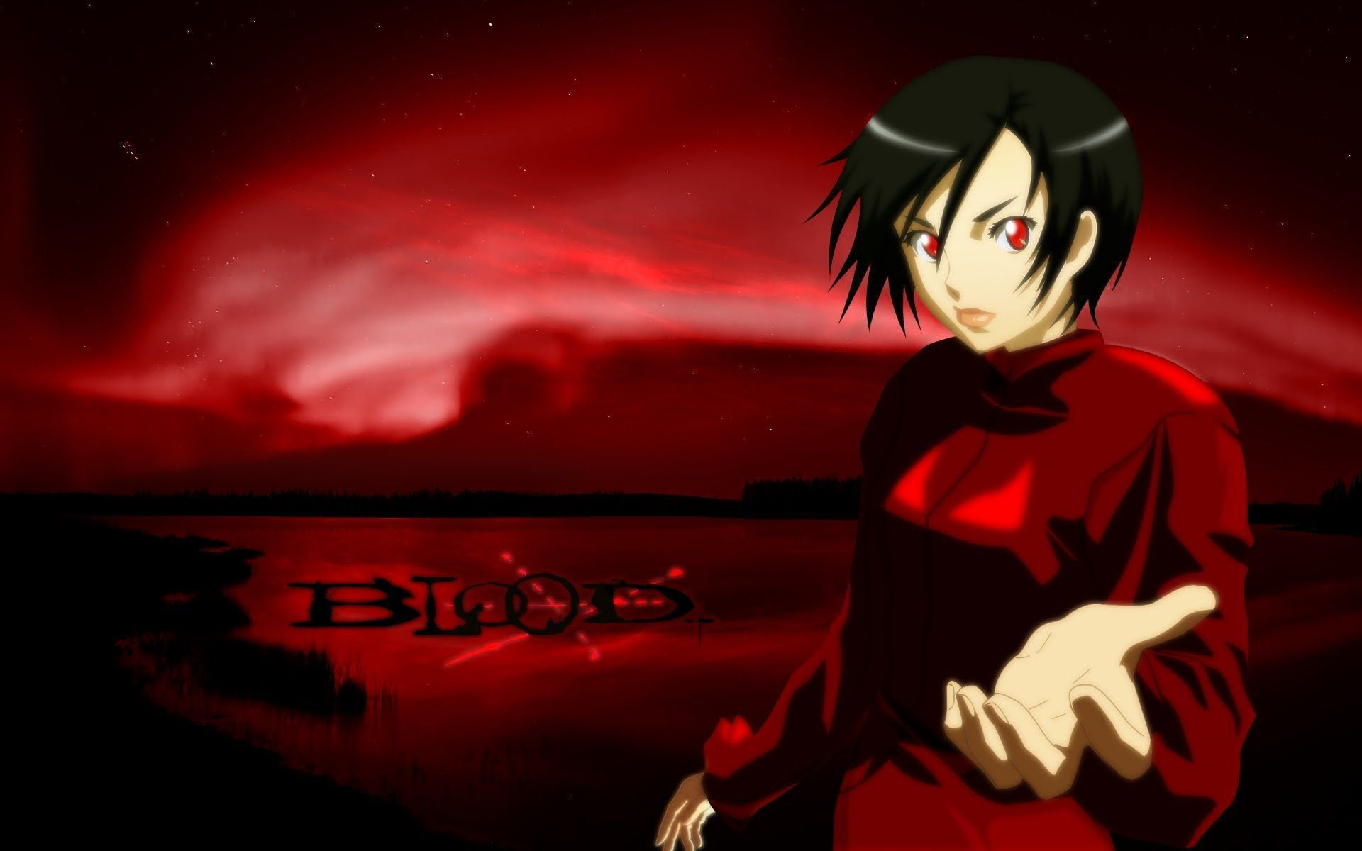 Free Download Wallpaper Anime Girl Blood Anime Wallpapers Backgrounds