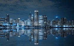 Small Of Chicago Skyline Wallpaper
