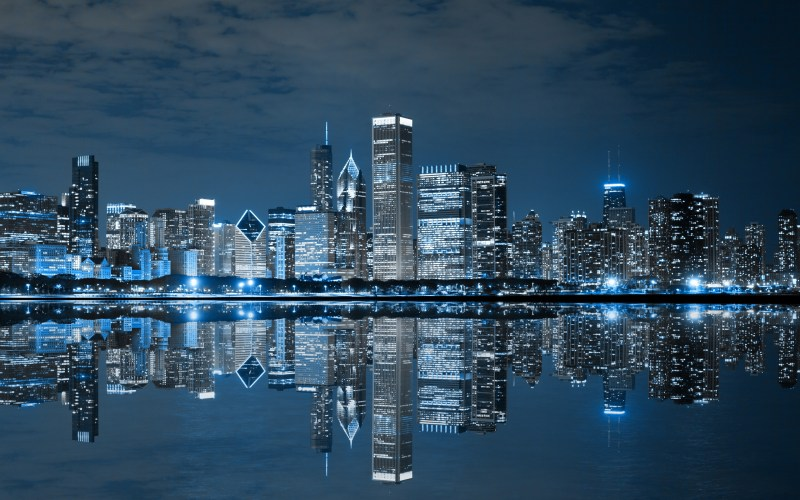 Large Of Chicago Skyline Wallpaper