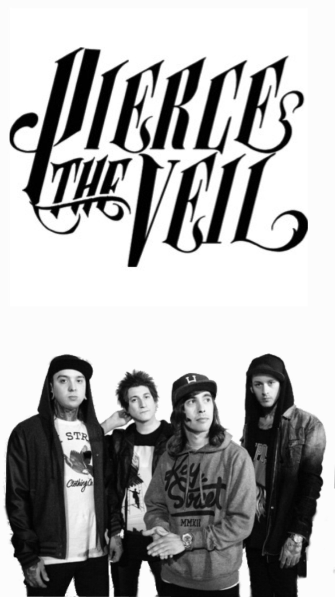 Falling In Reverse Wallpaper Iphone 4 Pierce The Veil Wallpapers 75 Pictures