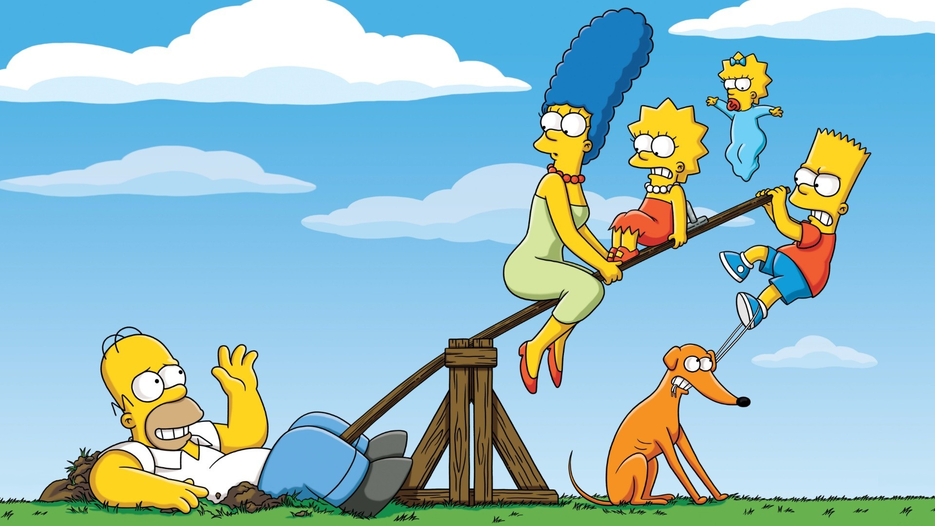 Attack On Titan Cute Wallpaper The Simpsons Wallpaper 1