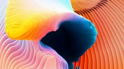 Wallpaper MacBook Pro, iPhone wallpaper, 4k, 5k, live wallpaper, 3D, Apple, OS #12334