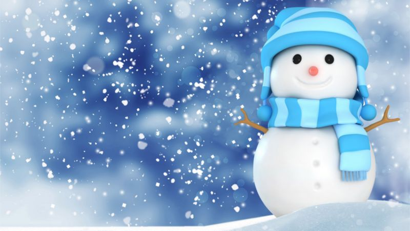 Cute Owl Wallpaper For Mac Wallpaper Christmas New Year Snow Winter Snowman 4k