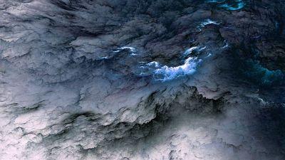 Wallpaper Clouds, 5k, 4k wallpaper, 8k, abstract, blue, live wallpaper, live photo, Nature #6468