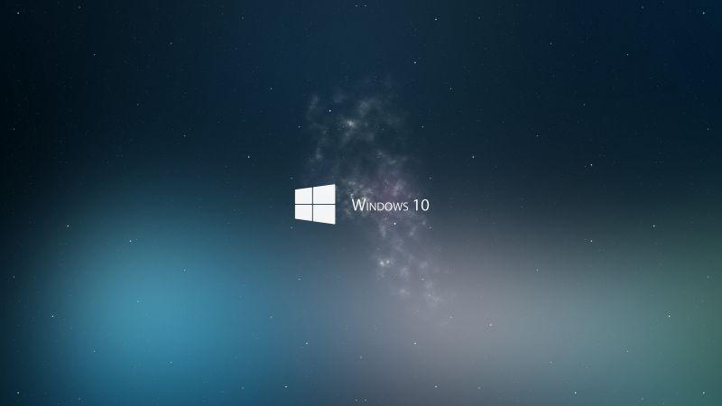 Wallpaper Windows 10, 4k, 5k wallpaper, Microsoft, blue, sea, woman