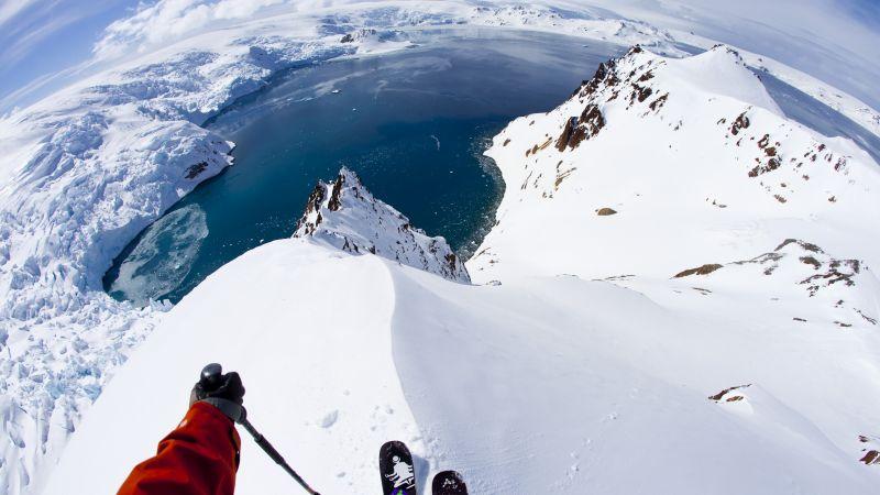 Smile Wallpaper With Quotes Wallpaper Antarctica 5k 4k Wallpaper 8k Skiing Travel