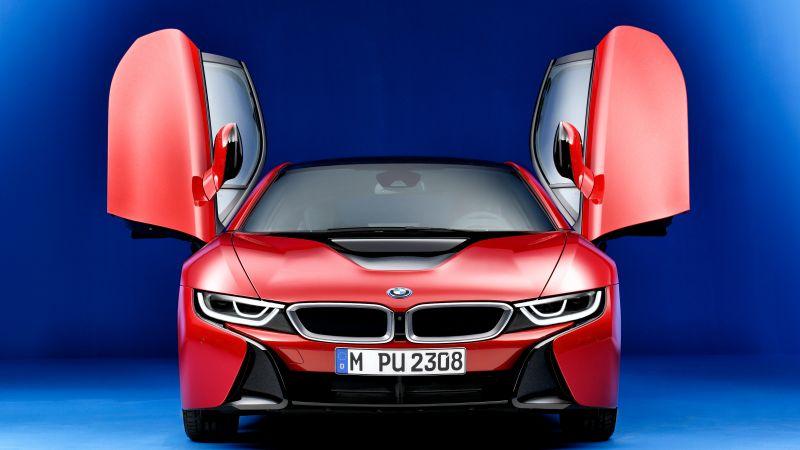 Wallpaper Super Cars Download Wallpaper Bmw I8 Quot Protonic Red Edition Quot Geneva Motor Show
