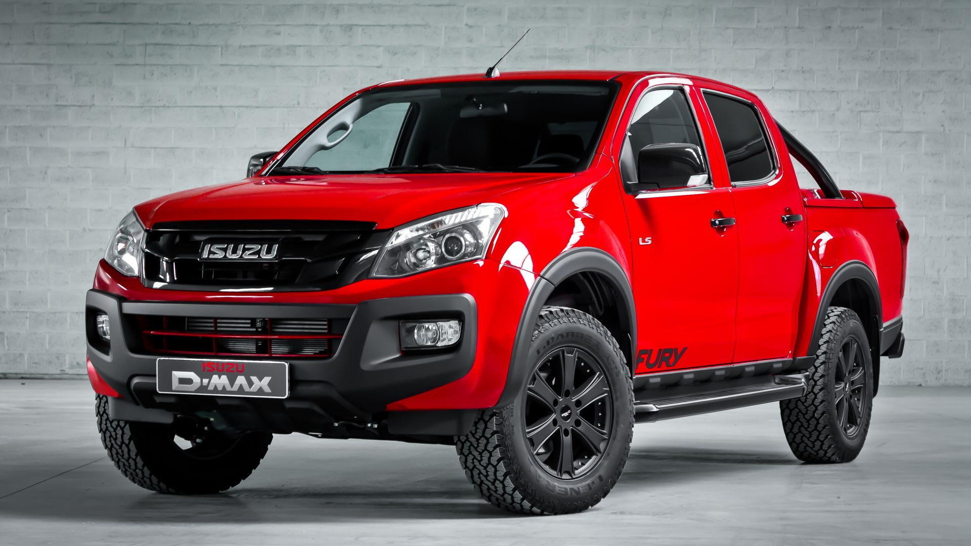 Classic Cars And Girls Wallpaper Wallpaper Isuzu D Max Quot Fury Quot Double Cab Pick Up Red