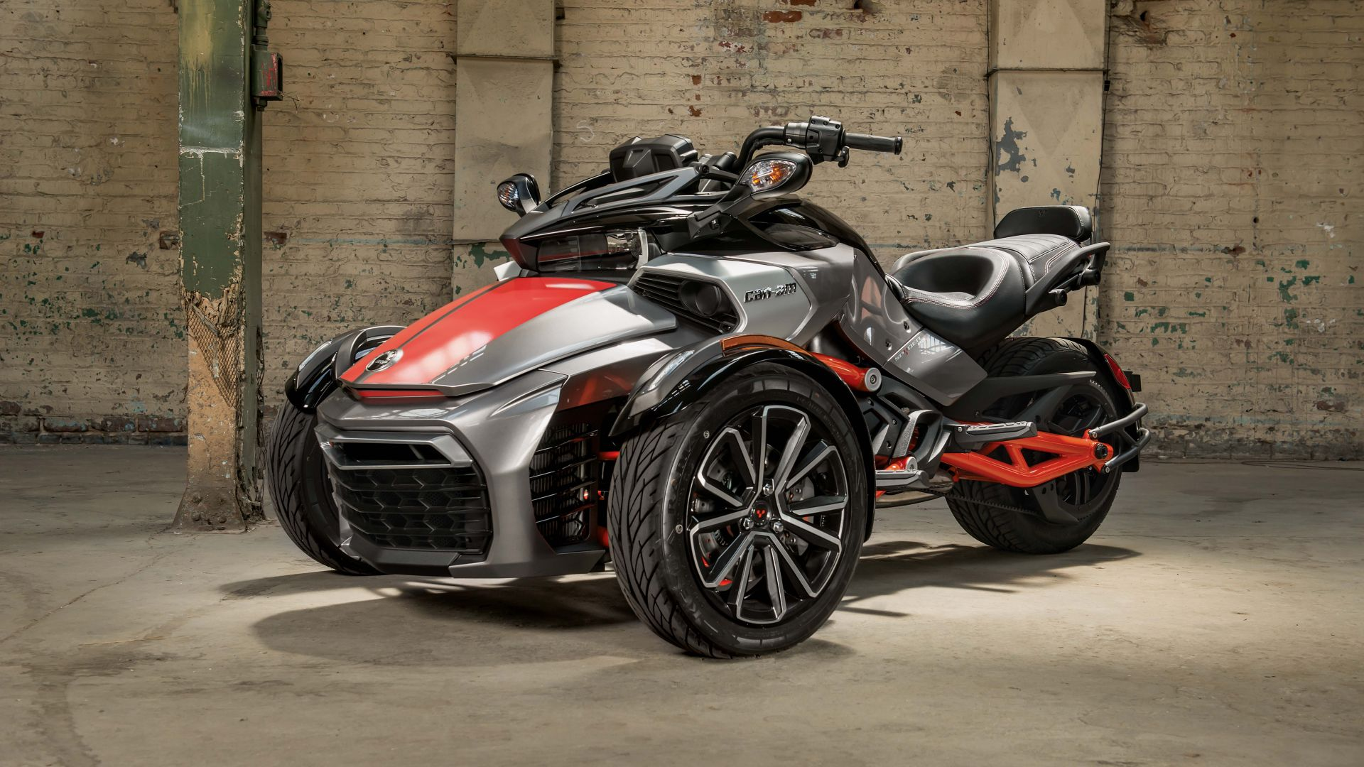 Audi Sports Car Wallpaper Wallpaper Can Am Spyder F3 T Concept Tricycle Cars