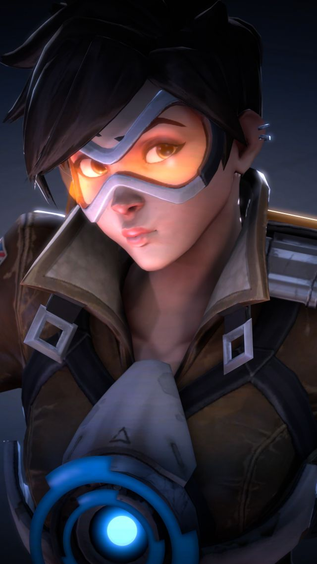 2k Wallpapers For Iphone X Wallpaper Tracer Hd 4k Overwatch Games 10203