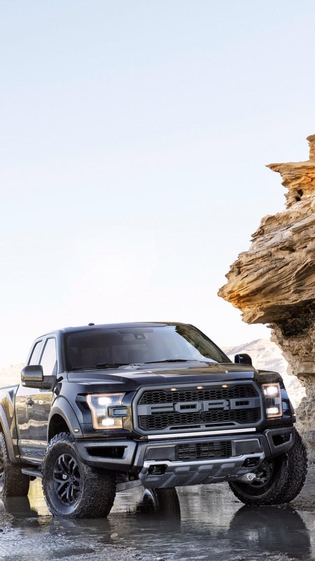 Vertical Wallpaper Hd Cars Wallpaper Ford F 150 Raptor Front Pickup Naias 2017