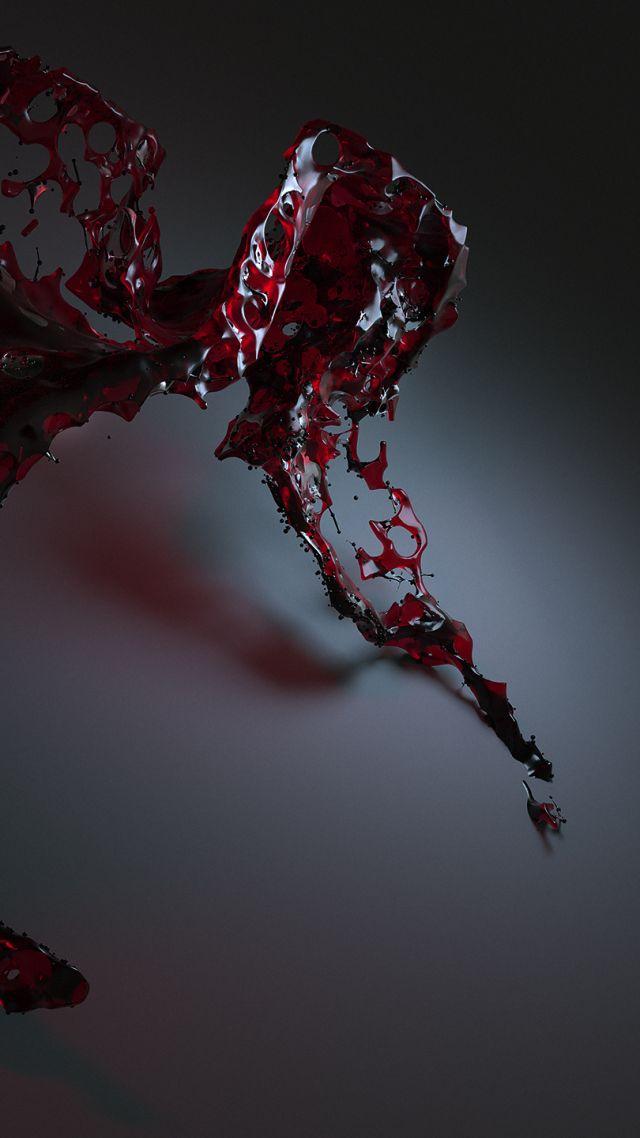 Best 3d 4k Wallpaper Wallpaper Water 3d Red Hd Abstract 16364