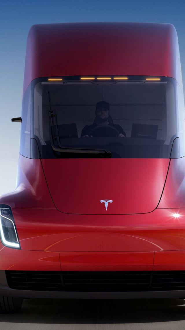 Us Military Wallpaper Quotes Wallpaper Tesla Semi Truck Electric Car 4k Cars Amp Bikes