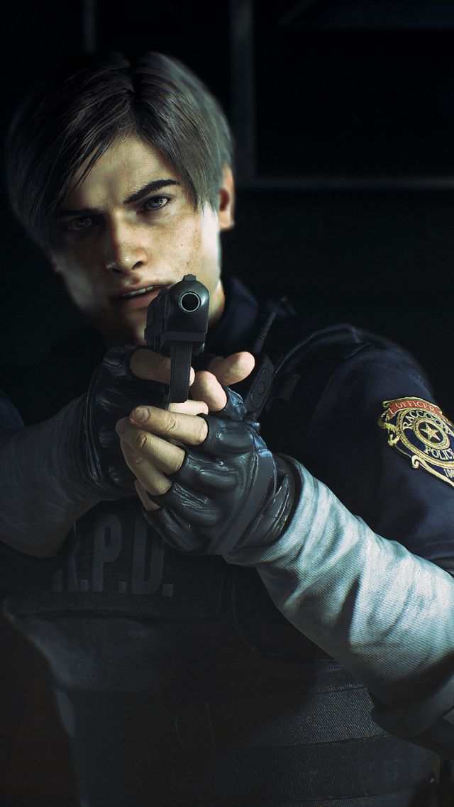 Leon S Kennedy Hd Wallpaper Wallpaper Resident Evil 2 E3 2018 Screenshot 4k Games