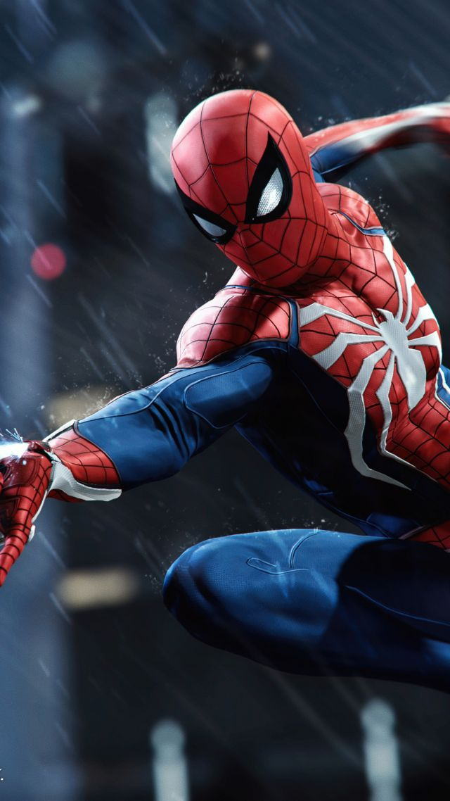 Vertical Wallpaper Hd Wallpaper Marvel S Spider Man E3 2018 Screenshot 4k