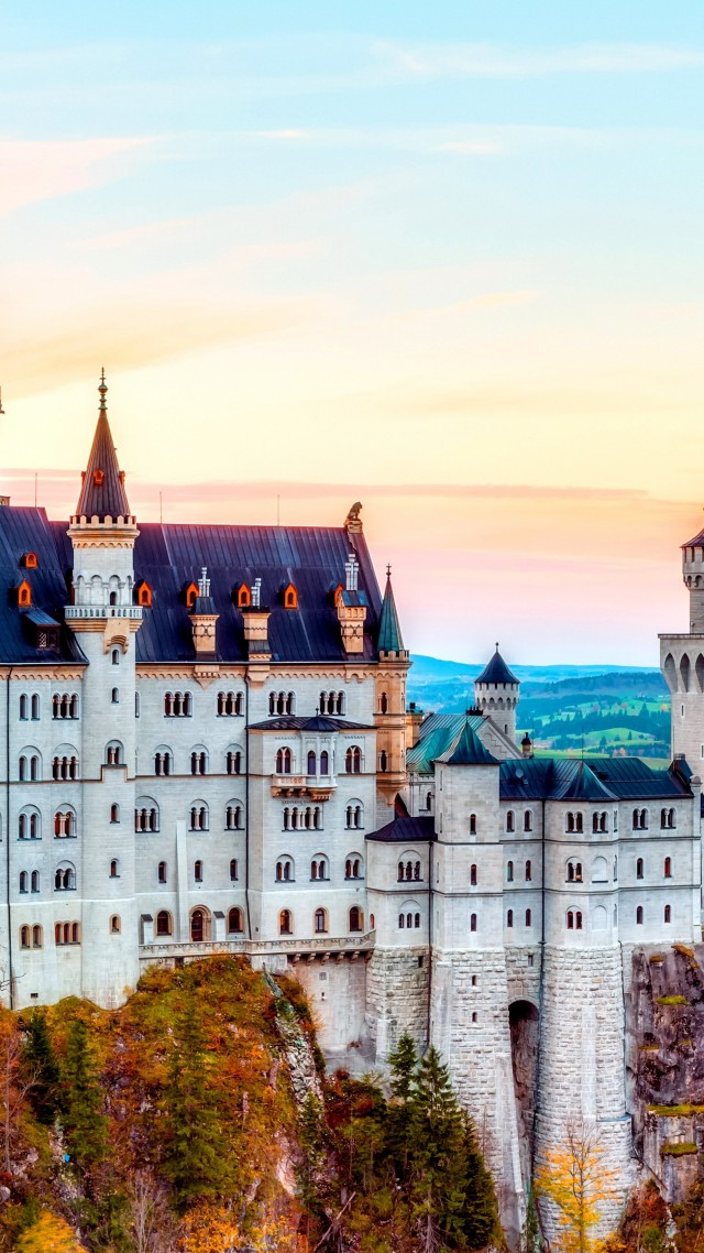 Best Cars And Bikes Wallpapers Wallpaper Castle Neuschwanstein Alps Autumn Bavaria