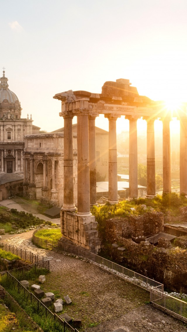 Quotes Iphone Wallpaper Pinterest Wallpaper Forum Romanum Rome Italy Templum Saturni